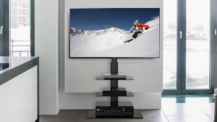 Comparatif meilleur support TV sur pied