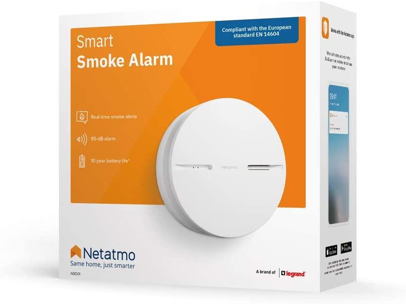 détecteur de fumée intelligent Netatmo